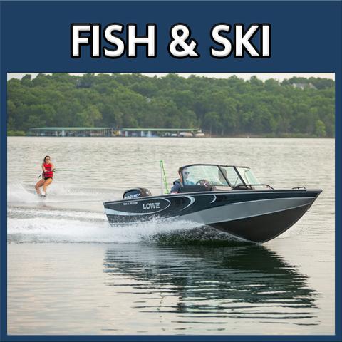 Lowe Fish & Ski Boat