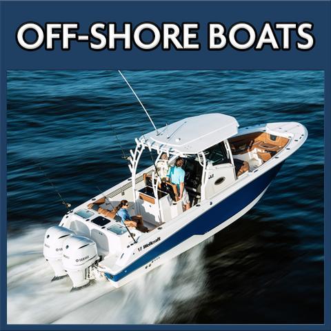 Off-shore boat